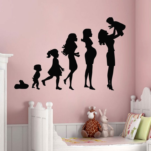 Baby Mothers Day Mothers Day Design Vinyl Wall Murals Art Wall