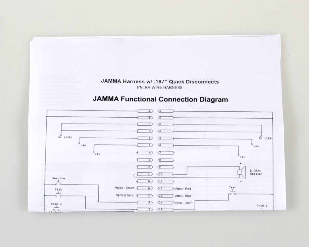 small resolution of arcade game wiring diagram