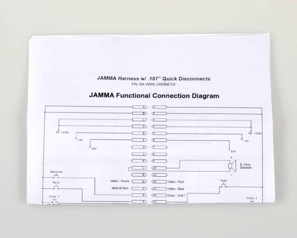 hight resolution of arcade game wiring diagram