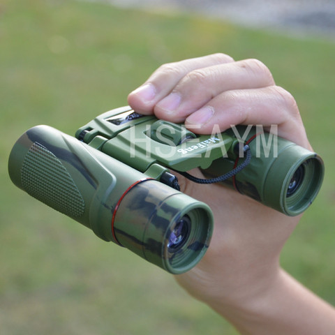 20X22 MINI Binoculars Telescope Field-glass Camouflage  Hunting Tourism Spotting Scope Portable Pocket Telescopio Green Film Lahore