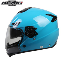 NENKI Four Season Casco Moto Motorcycle Helmet Men Women Motorbike Motocross Helmet Dual-Purpose Half/Full Helmet Motocicleta