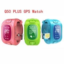 Niños GPS Tracker Y3 Q50 Niños bebé Inteligente muñeca inteligente teléfono smart watch con sos gsm soporte android y ios anti perdido niños