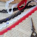 hot sale Lace accessories Tri-color wave lace lace width 1.2 cm H1203