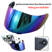High Protective Motorcycle Full Face Helmet Lens K5 K3SV K1 Visor Anti-fog Film Casco Shield Capacetes Accessories&Parts