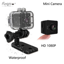 SQ12 Mini Kamera HD1080P Wasserdichte Nachtsicht 155 Grad Mini Camcorder Bewegung Detectiom Video Record Wireless Mini Camcoeder(China)