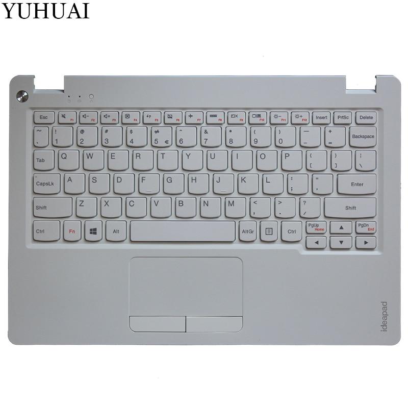 NEW US laptop keyboard FOR LENOVO IdeaPad 100S-11 100S-11iby US keyboard with touchpad 5CB0K38958 new us keyboard for acer aspire vn7 793g vx5 591g vx5 591g 52wn us laptop keyboard with backlit