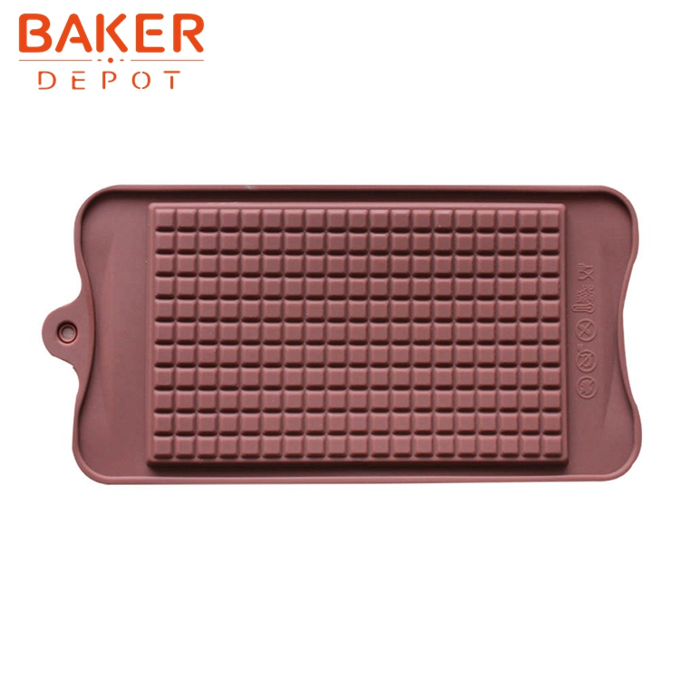 Silikon choklad mögel vaffel formar Muffin Cake choklad bitar Mögel Pastry Bakverk Verktyg Bakeware Kakor Mögel jul jul