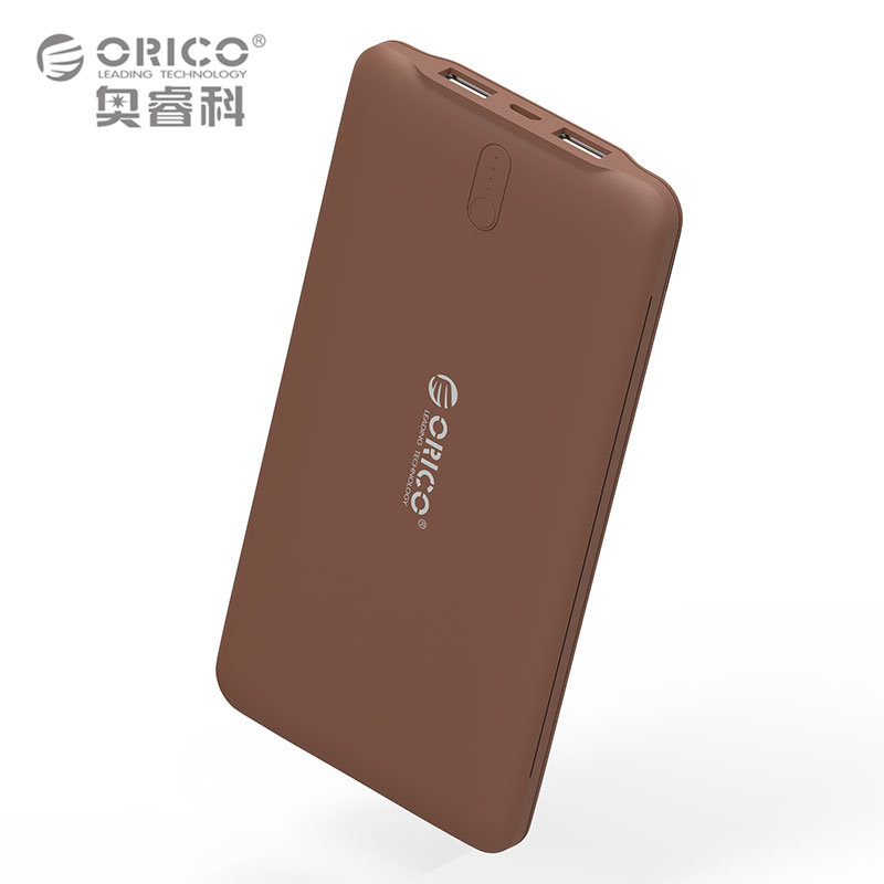 ORICO 10000mAh External Battery Charger Smart Identification 2 4A Dual USB Port Power Bank Universal