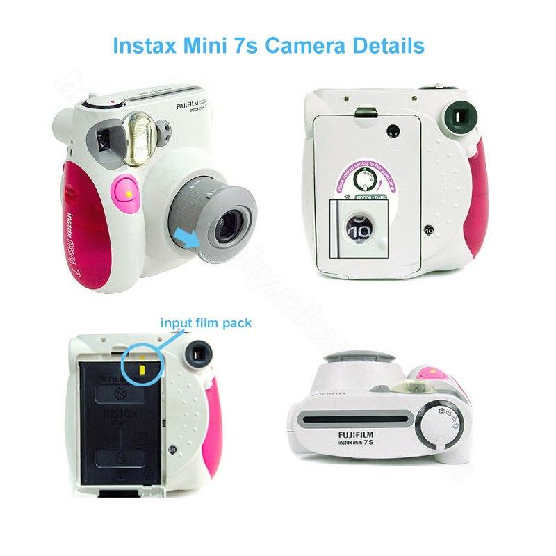 210076788b33 Fujifilm Instax Mini 7s Instant Film Photo Camera Blue Pink Black ...