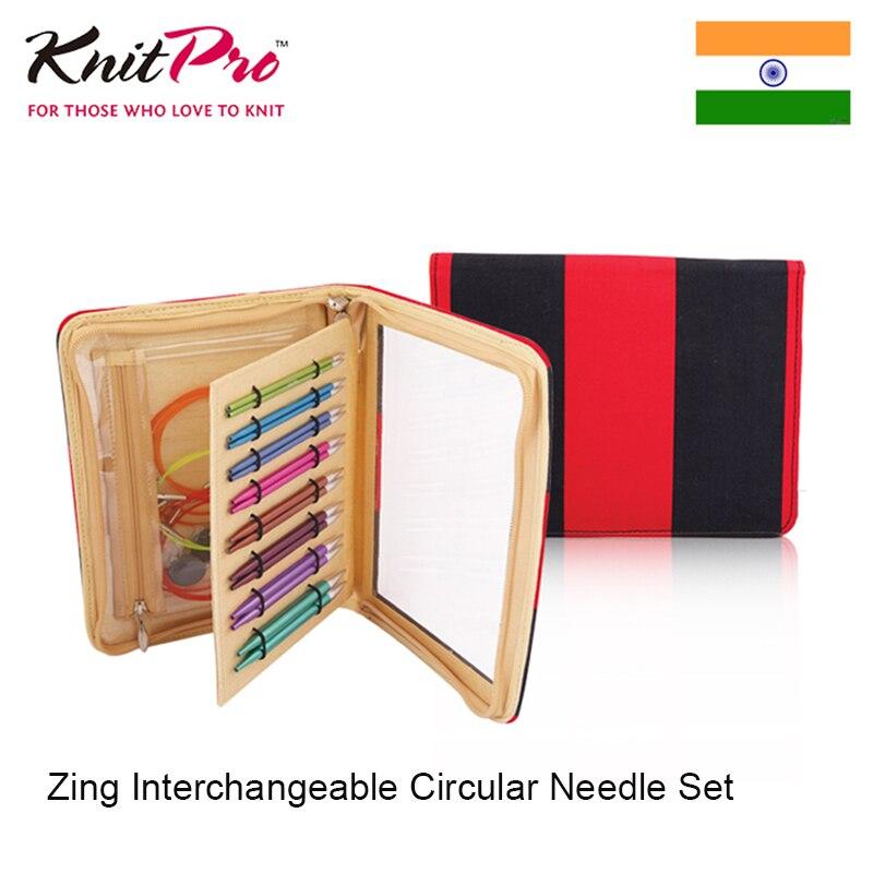 Knitpro Zing Interchangeables Aiguille Circulaire Ensemble