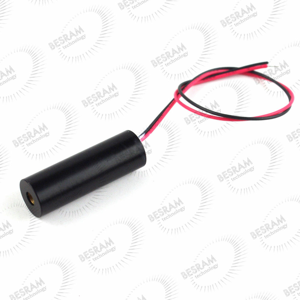 850nm 40mw Infrared Dot Laser Module DC 3V~5V  12 33mm 850nm 300mw infrared ir dot laser diode module fixed focus dc 3v