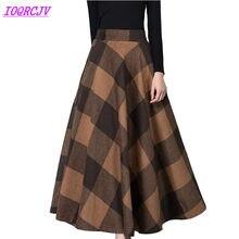755259ac Plus Size Woman Skirt Promocja-Sklep dla promocyjnych Plus Size ...