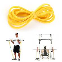 Loop crossfit resistance workout latex yellow green band training elastic blue