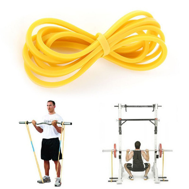 Elastic Latex Loop Band Fitness Body Workout Training Crossfit Resistance Band Yellow Blue Green Red