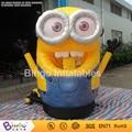 inflatable money booth money grabber catch running money game yellow movie cartoon figure 2.5m hign BG-A0732-7 toy
