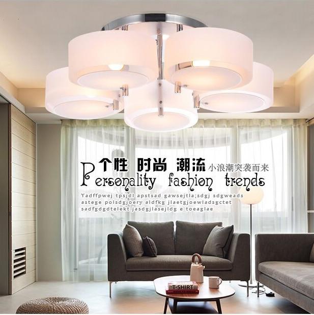 Moderne minimalistische led acryl plafond verlichting woonkamer ...