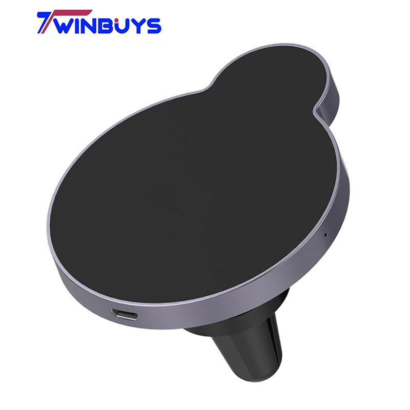 Twinbuys M2 metal Wireless magnetic Car Charger mount Qi