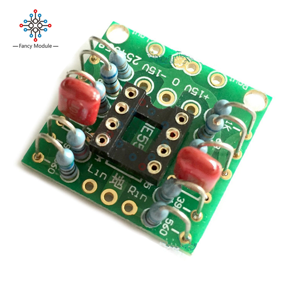 Dual Op Amp Board Preamp Dc Amplification Pcb For Ne5532 Opa2134 Opamp Audio Mixer Circuit Diagram With Opa2604 Ad826