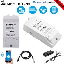 SONOFF TH10 TH16 Humidity Sensor Switch Wireless Probe Temperature Monitor Monitoring Wifi Smart Home Remote Controller Homekit
