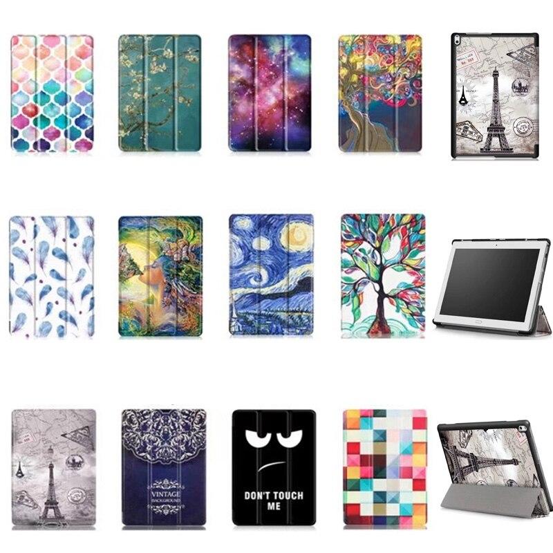 Case For Lenovo Tab 4 10 plus , Magnet Flip leather case smart Cover for Lenovo TAB4 10 Plus TB-X704 TB-X704F TB-X7 tablet Case