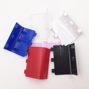 Image 5 - [20 teil/los] Hohe Qualität Schwarz Farbe Batterie Abdeckung Fall Batterie Pack Ersatz für Microsoft Xbox eine Reparatur