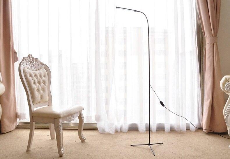 Moderno e minimalista lampada da terra permanente lampade per