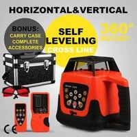 Automatic Electronic Self Leveling Rotary Rotating Red Laser Level 500M Range