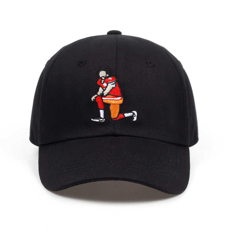 166eeebfad8 Detail Feedback Questions about 2018 New Football player Embroidery Dad Hat  men women Adjustable Hip Hop Baseball Cap wholesale on Aliexpress.com