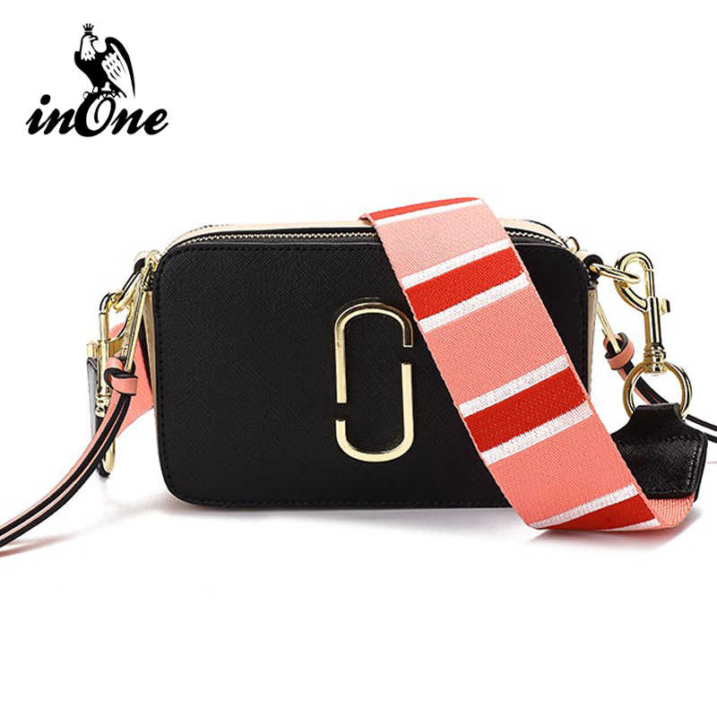 eef9906a071e INONE Luxury Bags for Women 2019 Vegan PU Leather Crossbody Messenger  Shoulder Bag with Two Straps