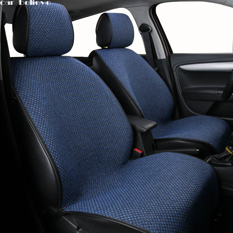 все цены на Car Believe car seat cover For ssangyong kyron actyon korando rexton accessories covers for vehicle seat