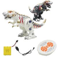 RC Rechargeable Mechanical Walking Dinosaur with Sound Light Interactive Kid Toy 2019