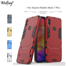 Xiaomi Redmi Note 7 Pro Case Armor Rubber Hard Phone For Back Cover Fundas*