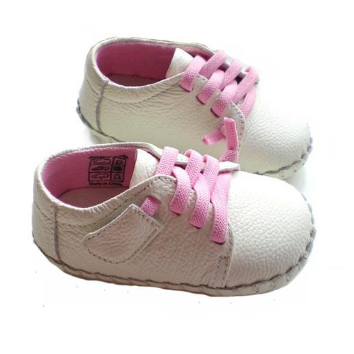 Nuevos zapatos de bebé de cuero del niño del skidproof de cuero zapatos primeros caminante