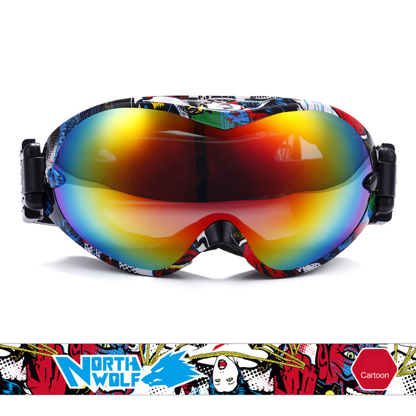 Mountainskin Mens Women Winter Ski Goggles Double Outdoor Sport Anti-fog Snowboarding Cycling Skiing Hiking UV400 Glasses VK017