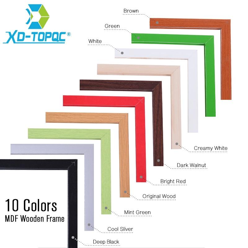 Купить доска деревянная магнитная 11 цветов 30 х40 см wb23