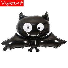 VIPOINT PARTY 88x60cm black bat foil balloons wedding event christmas halloween festival birthday party HY-62