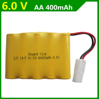 Genuine 6V 400mAh Rechargeable Battery Pack Double Eagle E703 001 Remote Control Car Battery AA Batteries