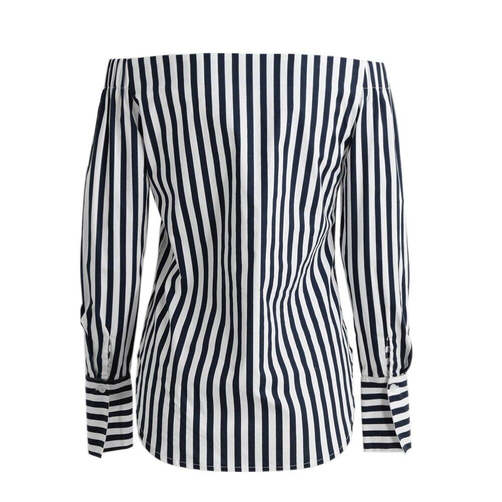 HTB1GZkcPpXXXXX9XVXXq6xXFXXXl - Summer Women Striped Shirt Sexy Cotton Long Sleeve