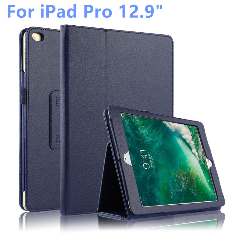 For Apple iPad Pro 12.9 inch Cover Case Protective Cover Leather For iPad 12.9 ipad pro12.9 Tabler PC Cases PU Protect Sleeve