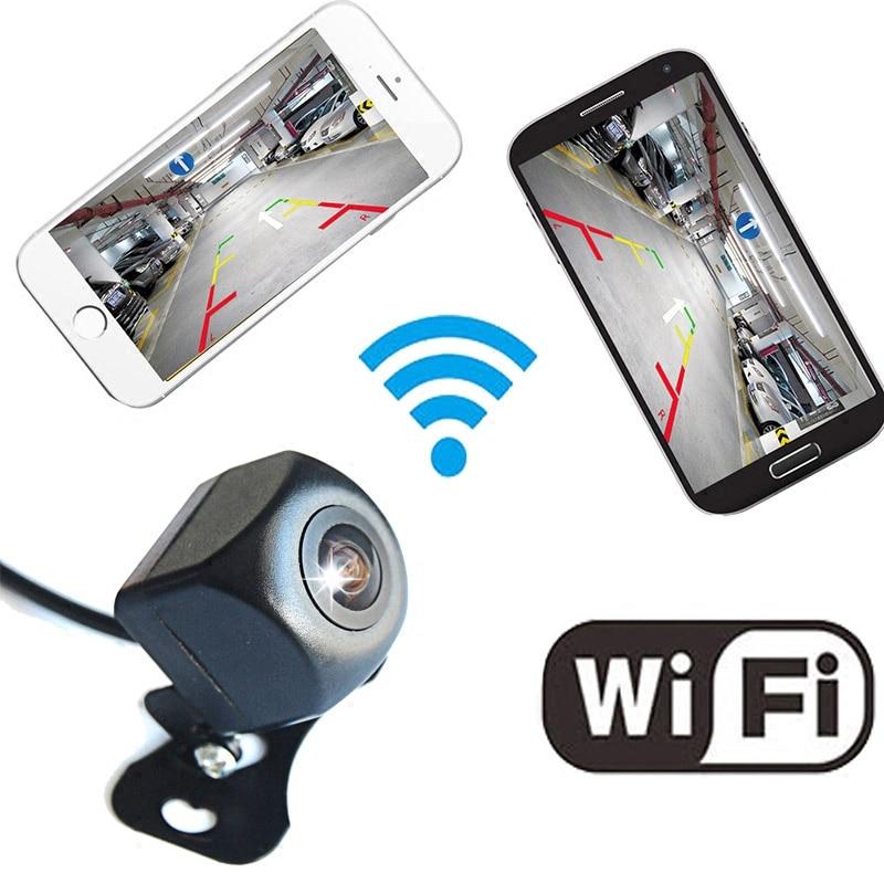 Mini caméra de recul WIFI étoile Vision nocturne voiture caméra de recul aide au stationnement pour iPhone et Android