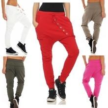 ZOGAA Plus Size S-4XL Womens Sport Pants New Fashion Full Length Harem Loose Sweatpants Streetwear Women Joggers