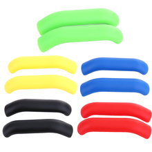 1 Pair Bicycle Brake Handle Silicone Sleeve Mountain Road Bike Bicycle Cycling dead fly Brake Lever Silicone Protection Cover