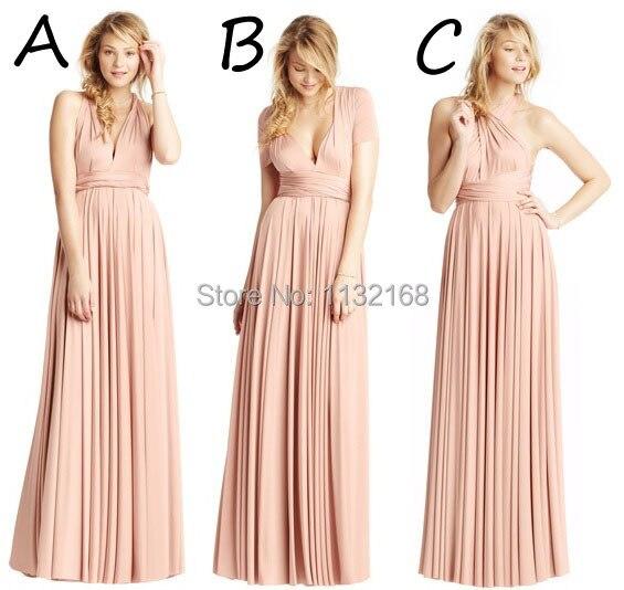 Long Bridesmaid Dresses Under 100 - Qi Dress