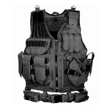 цена на Military Clothing Vest Tactical Chemise Militaire Uniforme Militar Army Combat Shirt Colete Tatico Hunting Multi-functional Vest