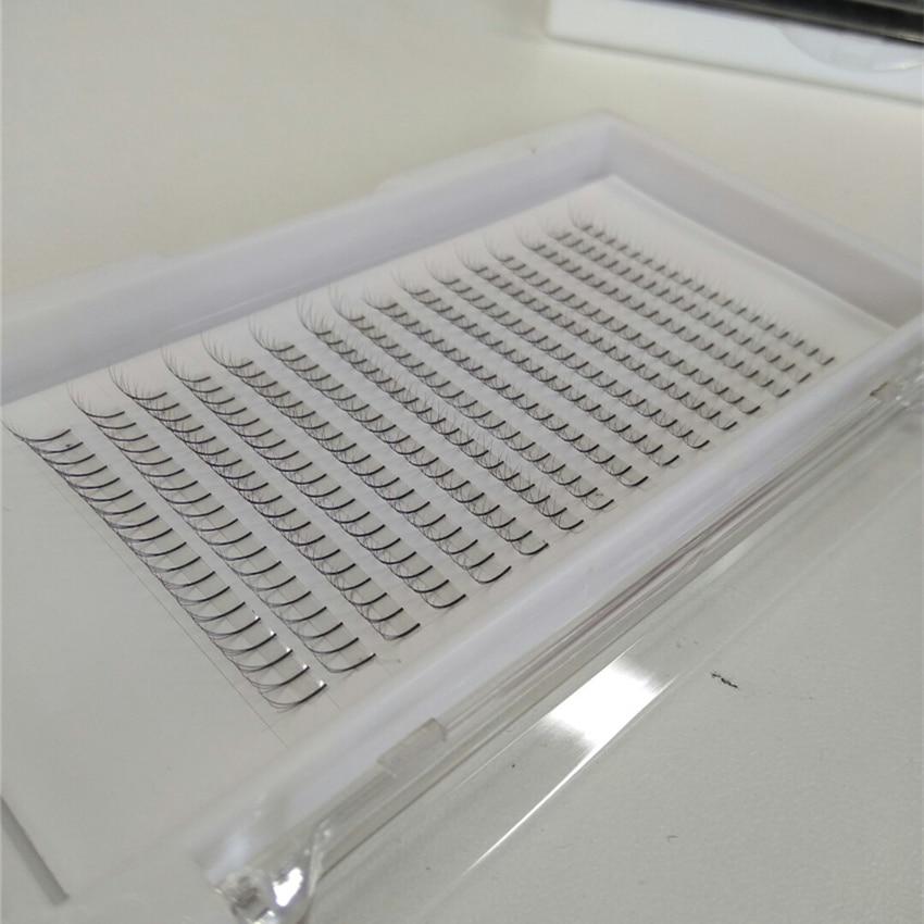 High-quality Individual Lashes 100% Hand Made False Eyelash Natural Long Cluster Extension Set Makeup 9-15mm free shipping