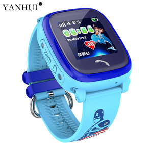 GPS Tracker Smart Watch DF25 for Children GPRS realtime tracking easy operation Tracking Device SOS emergency alert Voice chat