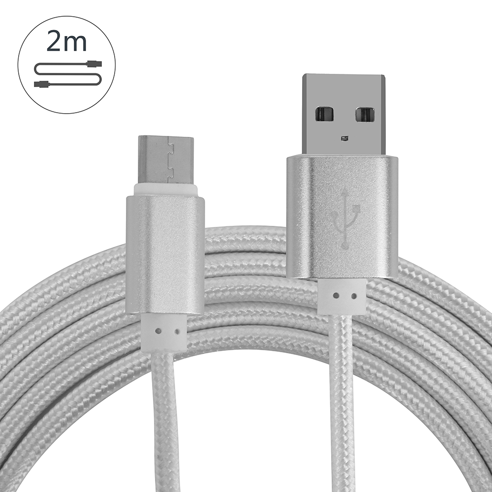 VPLAY 2018 2M/3M 2A USB 3.0 Interface Data cable Charging Cable For Nintend Switch Type C Fast Charging Nylon Sync Cable Cord