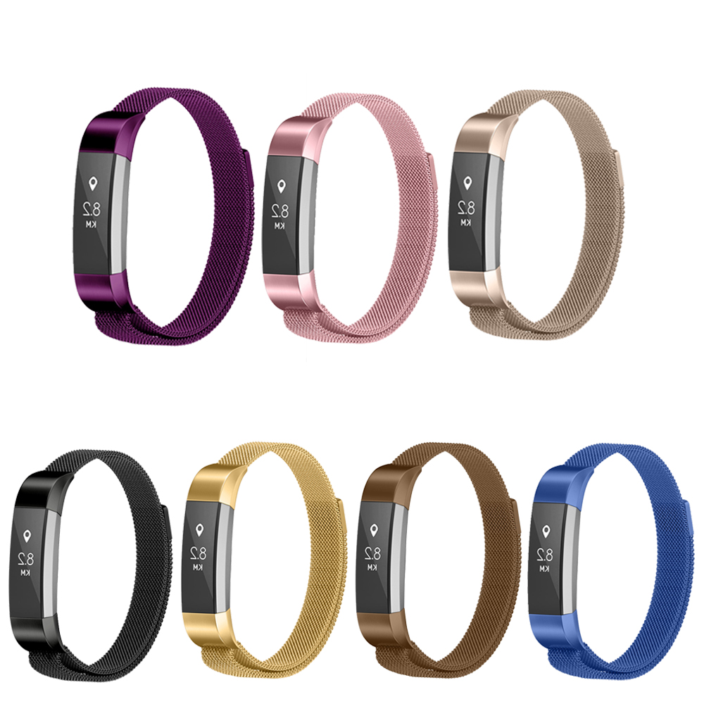 Milanese loop strap for Fitbit Alta/fitbit Alta HR Replacement Band Stainless Steel Metal Smartwatch Strap For Fitbit Watchband