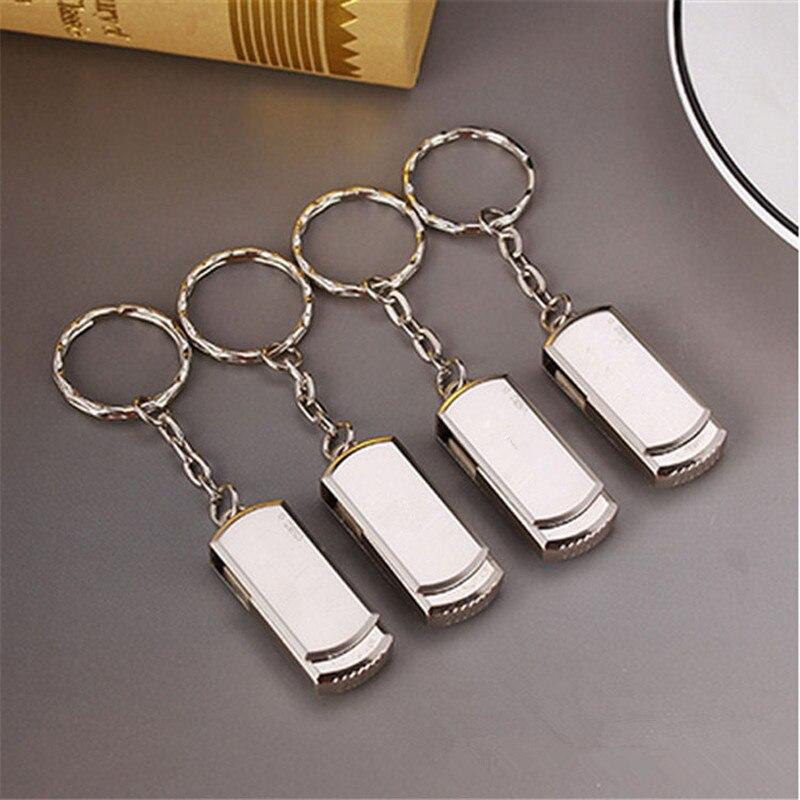 LOGO gratuit!!! 32 mo 64 mo 128 mo 256 mo 512 mo 1 go 2 go lecteur Flash USB U disque rotation stylo lecteur clé usb métal clé USB 2.0