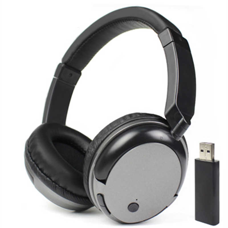 New Tv Rechargeable Multifunction 2 4g Wireless Headset Tv Headphones With Microphone For Tv Pc Ipad Phones Mp3 Gifts Headset Steel Headphone With Sd Cardheadphone Microphone Aliexpress
